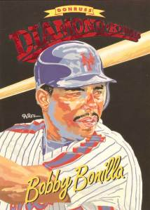 Bobby Bonilla's 1994 Donruss Diamond King baseball card
