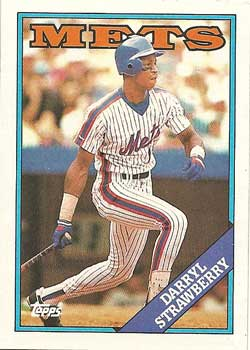1988 Topps Darryl Strawberry