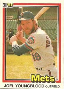 1981 Donruss Joel Youngblood