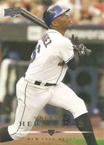 El Duque's 2008 Upper Deck card