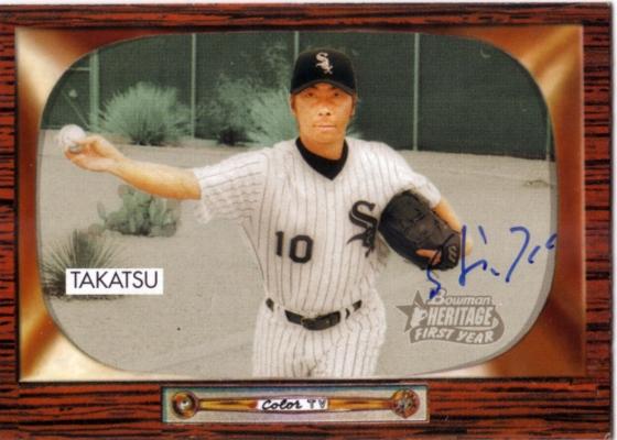 2004 Bowman Heritage Shingo Takatsu