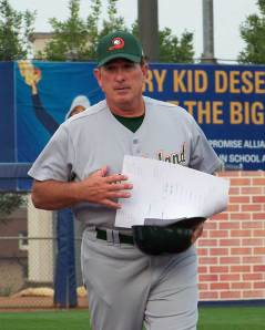 Gary Carter as manager of the Long Island Ducks in 2009 (Photo credit: Paul Hadsall)