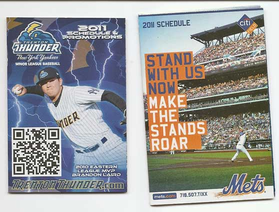 Collecting Pocket Schedules
