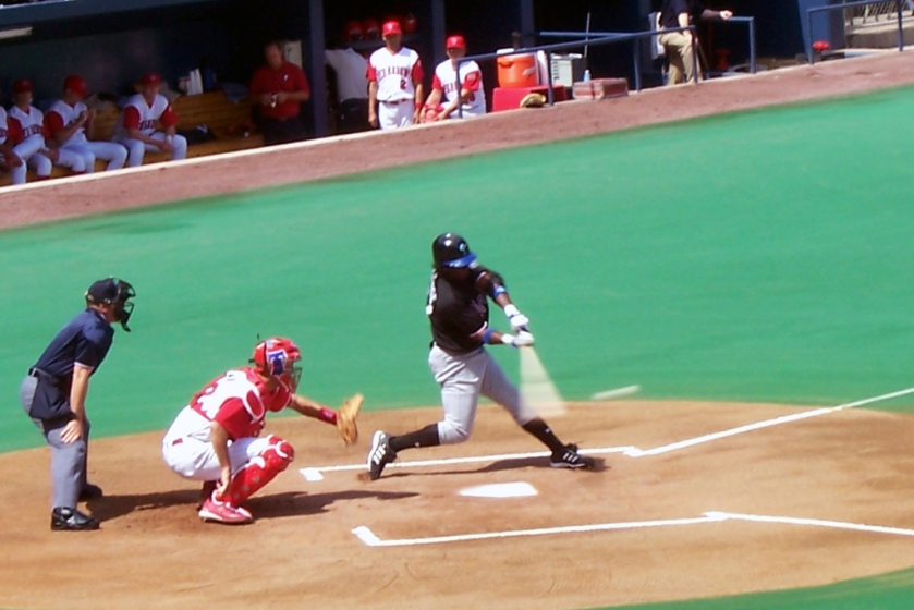 Lastings Milledge, seen here playing for the Norfolk Tides in 2006, signed a contract with the Lancaster Barnstromers last month. (Photo credit: Paul Hadsall)