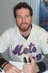 Ike Davis during a public appearance after his rookie season with the Mets. (Photo credit: Paul Hadsall)
