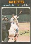 Ray Sadecki's 1971 Topps baseball card