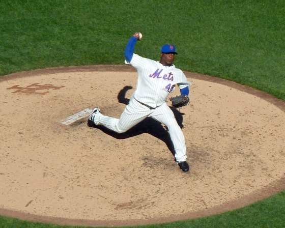 New York Mets closer Frank Francsico