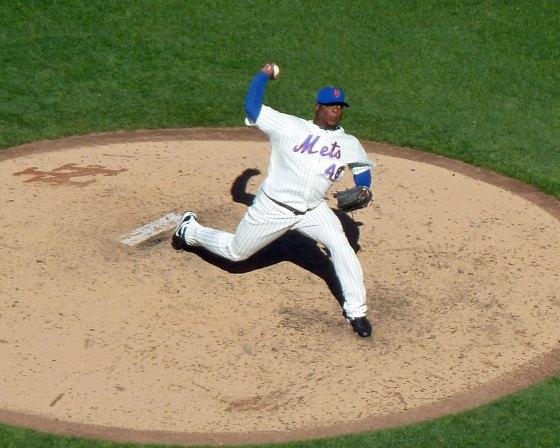 New York Mets closer Frank Francsico