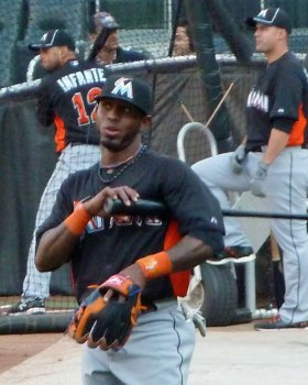 Jose Reyes only got to spend one year with the Miami Marlins (Photo credit: Paul Hadsall)
