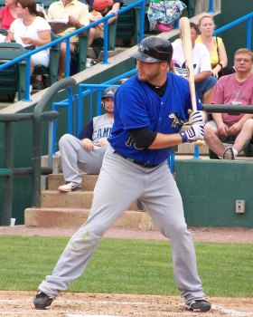 Sugarland Skeeters outfielder Bubba Bell spent time in the Mets farm system last year