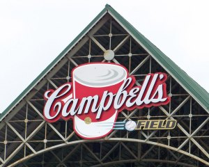 Cambell's Field marquee