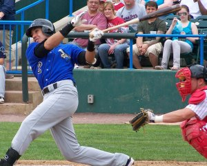 Sugarland Skeeters shortstop Iggy Suarez was once a Boston Red Sox prospect