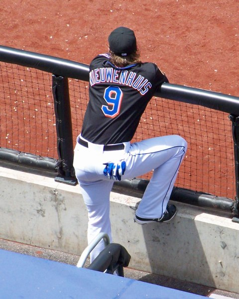 Kirk Nieuwenhuis won't be watching so many games from the bench in 2013 (Photo credit: Paul Hadsall)
