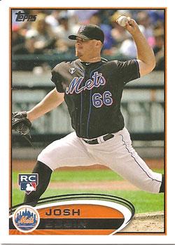 Josh Edgin's 2012 Topps Update card