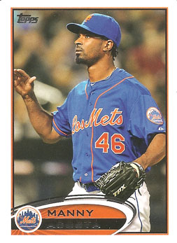 Manny Acosta's 2012 Topps Update card