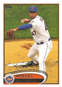 Miguel Batista's 2012 Topps Update card