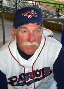 Somerset Patriots manager emeritus Sparky Lyle, in a photo from 2006 (Photo credit: Paul Hadsall)