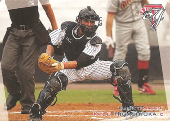 Kyle Higashioka's 2012 Tampa Yankees baseball card