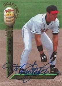 McKay Christiansen's 1994 Signature Rookies baseball card