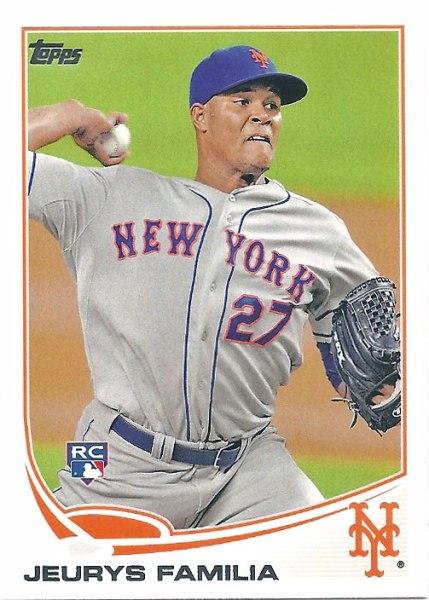 Jeurys Familia's 2013 Topps baseball card