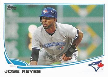Jose Reyes' 2013 Topps baseball card