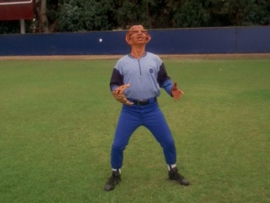 "The 2013 New York Mets outfield won't remind me of Rom... I hope. (Screencap from the Star Trek: Deep Space Nine episode ""Take Me Out To The Holosuite"" courtesy of TrekCore)"