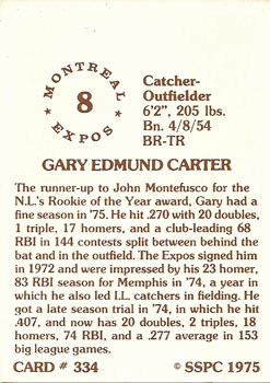 Gary-Carter-1975-back