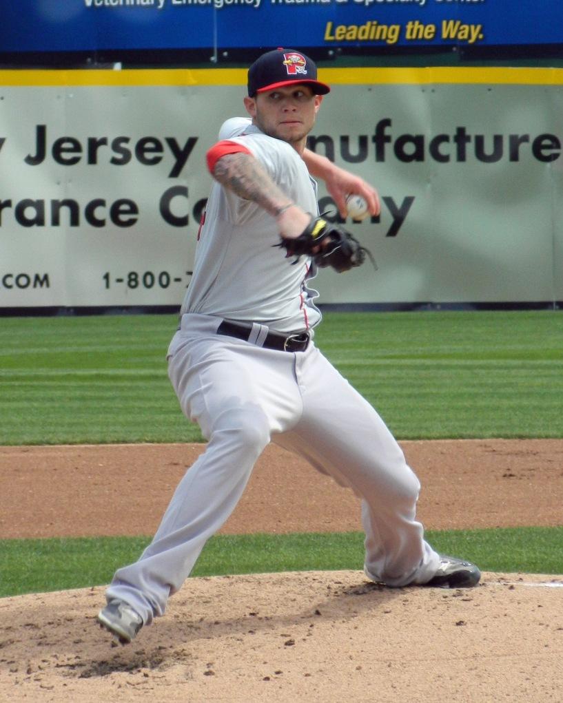 Boston Red Sox prospect Drake Britton (Photo credit: Paul Hadsall)