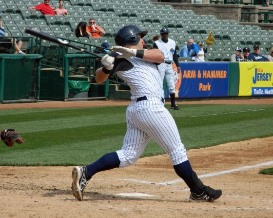 Trenton Thunder slugger Kyle Roller (Photo credit: Paul Hadsall)