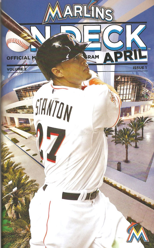 2013 Miami Marlins program