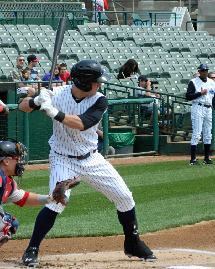 Trenton Thunder prospect Tyler Austin (Photo credit: Paul Hadsall)