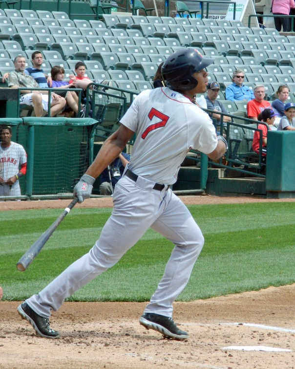 Boston Red Sox prospect Xander Bogaerts (Photo credit: Paul Hadsall)