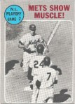 1970 Topps NLCS Game 2 baseball card