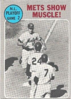 1970 Topps NLCS Game 2 baseball card