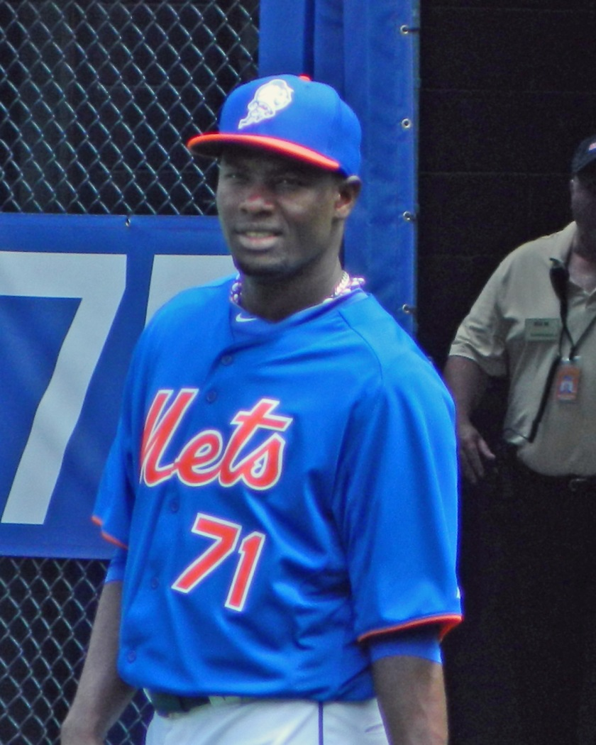 Mets reliever Gonzalez Germen (Photo credit: Paul Hadsall)