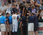 Alex Rodriguez's autograph isn't worth what it used to be, but that didn't stop a crowd from seeking them during his rehab assignment in Trenton earlier this month (Photo credit: Paul Hadsall)