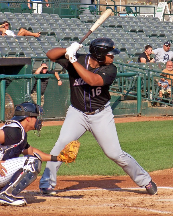 Cleveland Indians prospect Jesus Aguilar (Photo credit: Paul Hadsall)