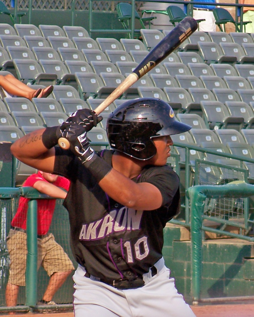 Cleveland Indians prospect Jose Ramirez (Photo credit: Paul Hadsall)