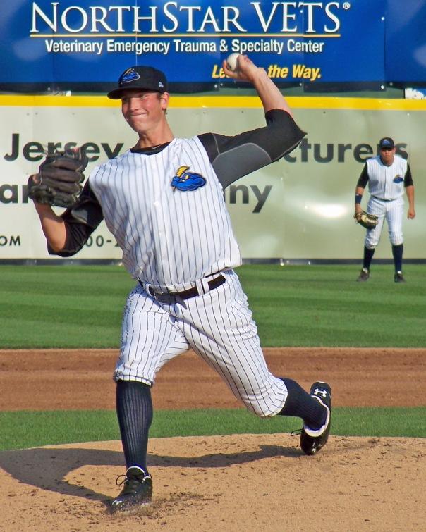 New York Yankees prospect Nik Turley (Photo credit: Paul Hadsall)