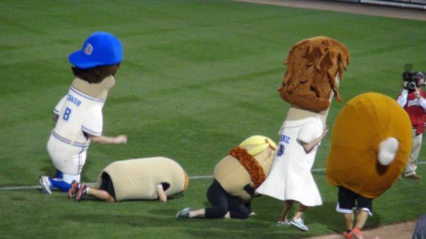 Mascot Race (Photo credit: Vinny Haynes)