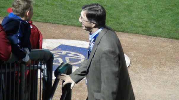 Pacific Coast League President Branch Rickey III, grandson of the famed Brooklyn Dodgers GM who gave Jackie Robinson the chance to play in the major leagues (Photo credit: Vinny Haynes)