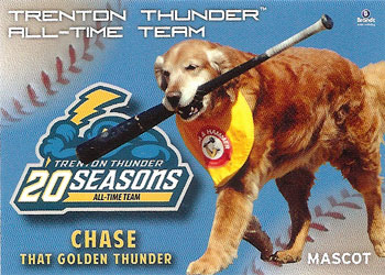 Chase's 2013 Trenton Thunder All-Time Team baseball card