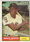 Minnie Minoso's 1961 Topps baseball card (from my collection)