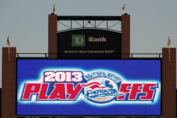 TD Bank Ballpark scoreboard (Photo credit: Paul Hadsall)