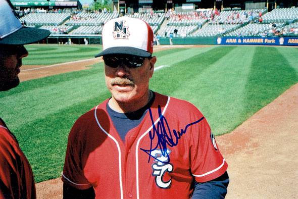 Gary Allenson signed photo from my collection