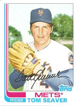Tom Seaver's 2013 Topps Archives baseball card