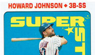 Mets baseball card of the week: 1990 Topps sticker back Howard Johnson