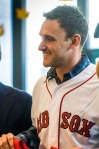 Will Middlebrooks (Photo courtesy Dana-Farber)
