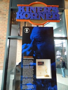 "New ""Kiner's Korner"" display at the Mets Museum (Photo credit: Paul Hadsall)"