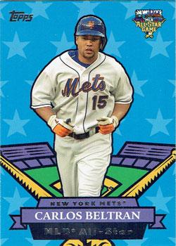Carlos Beltran's 2007 Topps All-Star insert card